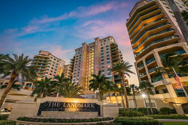 3620 Gardens Parkway 1701B, Palm Beach Gardens, FL 33410 (#RX-10634348) :: Real Estate Authority
