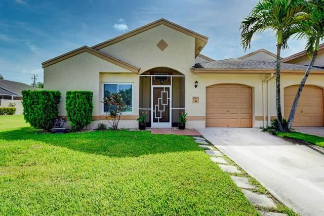 9845 Boca Gardens Circle N A, Boca Raton, FL 33496 (MLS #RX-10634423) :: Berkshire Hathaway HomeServices EWM Realty