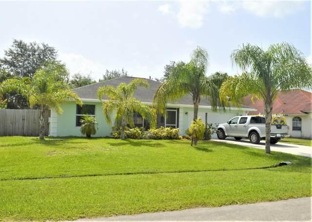 3231 SW Crumpacker Street, Port Saint Lucie, FL 34953 (#RX-10634660) :: Ryan Jennings Group