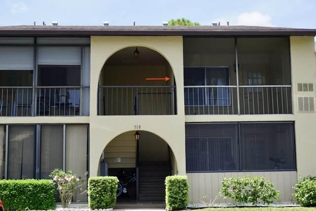 318 Pine Ridge Circle D-2, Greenacres, FL 33463 (#RX-10634819) :: Baron Real Estate