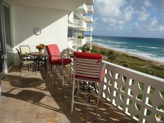 1225 S Ocean Boulevard #702, Delray Beach, FL 33483 (MLS #RX-10634868) :: Berkshire Hathaway HomeServices EWM Realty