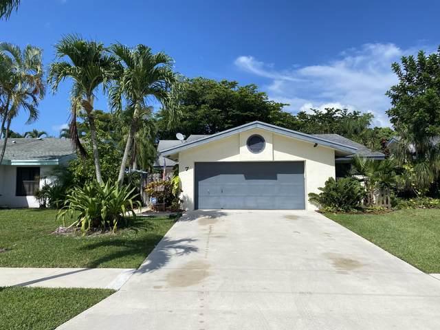 7 Baytree Circle, Boynton Beach, FL 33436 (MLS #RX-10635079) :: Berkshire Hathaway HomeServices EWM Realty