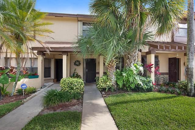 3967 Cocoplum Circle C, Coconut Creek, FL 33063 (MLS #RX-10635176) :: Berkshire Hathaway HomeServices EWM Realty