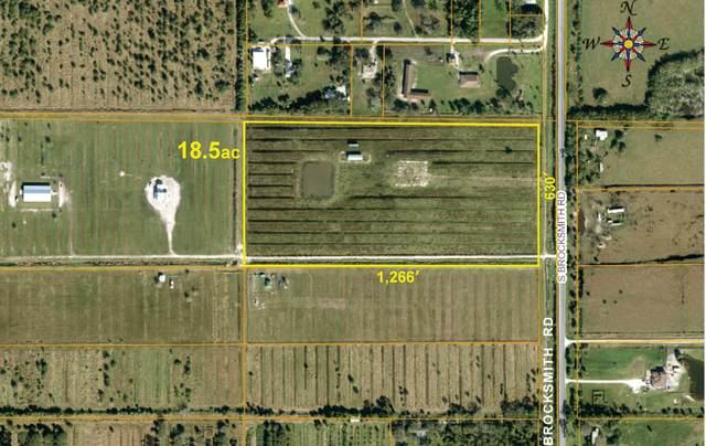 Tbd S Brocksmith Road, Fort Pierce, FL 34945 (MLS #RX-10635183) :: Berkshire Hathaway HomeServices EWM Realty