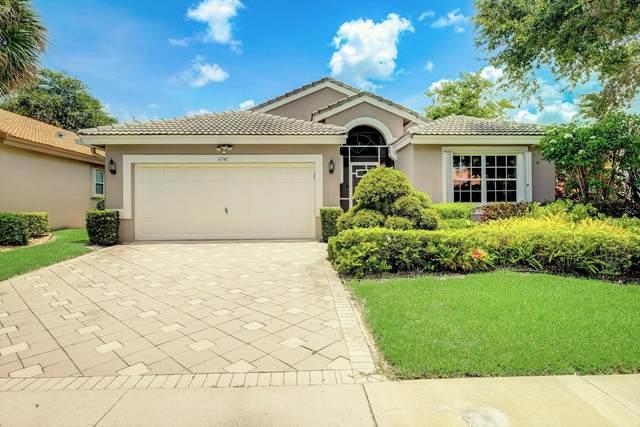 6741 Sun River Road, Boynton Beach, FL 33437 (#RX-10635258) :: Real Estate Authority