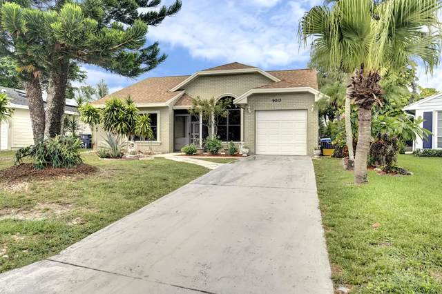9013 Carma Drive, Boynton Beach, FL 33472 (MLS #RX-10635377) :: Berkshire Hathaway HomeServices EWM Realty