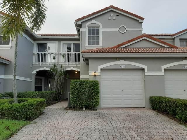 8337 Via Serena, Boca Raton, FL 33433 (#RX-10635480) :: Ryan Jennings Group