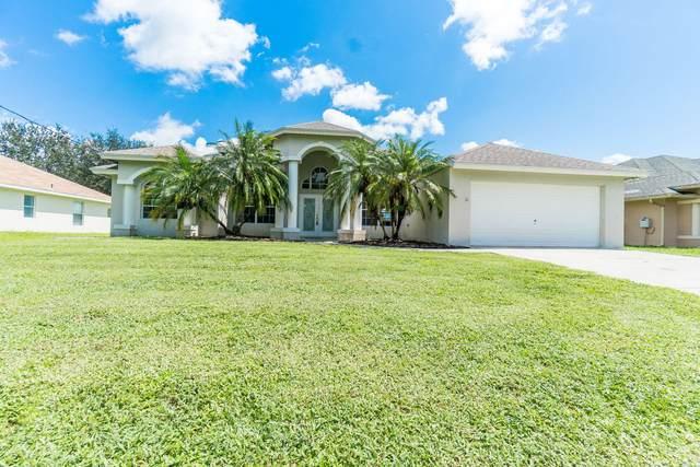 3865 SW Wycoff Street, Port Saint Lucie, FL 34953 (#RX-10635555) :: Ryan Jennings Group