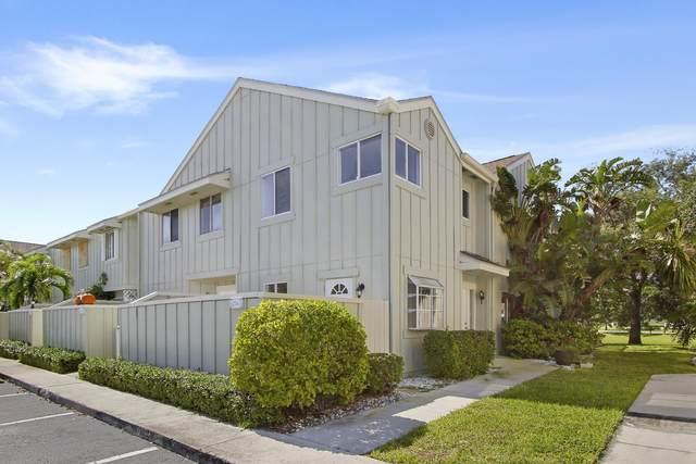 6214 Riverwalk Lane #1, Jupiter, FL 33458 (MLS #RX-10635743) :: Berkshire Hathaway HomeServices EWM Realty