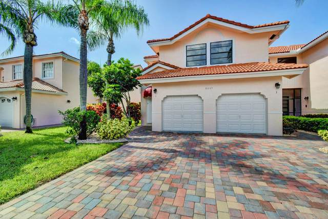 8647 Via Reale #4, Boca Raton, FL 33496 (#RX-10635775) :: The Reynolds Team/ONE Sotheby's International Realty