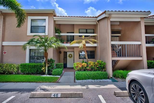 12910 Briarlake Drive #105, Palm Beach Gardens, FL 33418 (MLS #RX-10635788) :: The Jack Coden Group