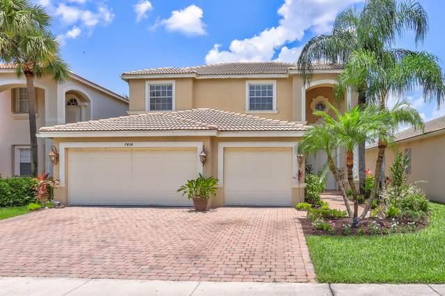 7434 Via Luria, Lake Worth, FL 33467 (MLS #RX-10635897) :: Castelli Real Estate Services