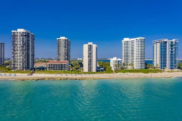 4200 N Ocean Drive 2-305, Riviera Beach, FL 33404 (MLS #RX-10636043) :: Berkshire Hathaway HomeServices EWM Realty