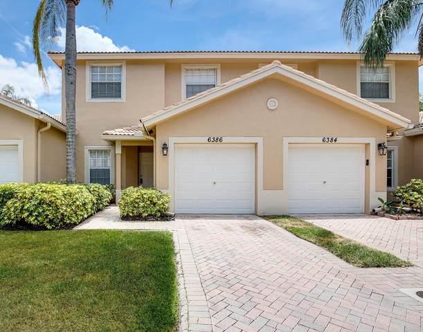 6386 Park Lake Circle, Boynton Beach, FL 33437 (#RX-10636180) :: Real Estate Authority
