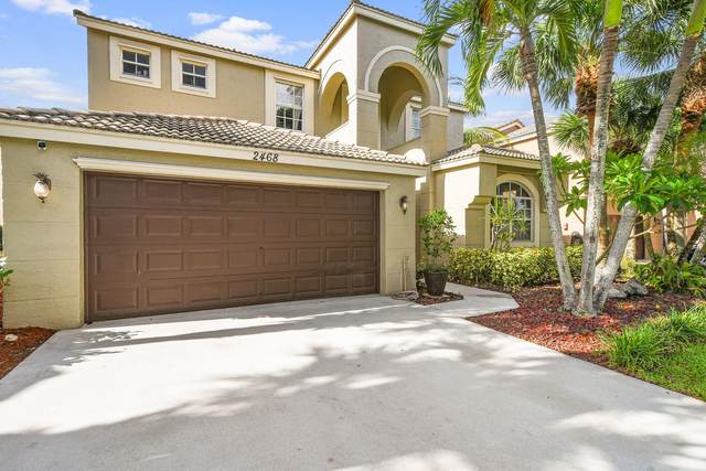 2468 Westmont Lane, Royal Palm Beach, FL 33411 (MLS #RX-10636211) :: Berkshire Hathaway HomeServices EWM Realty