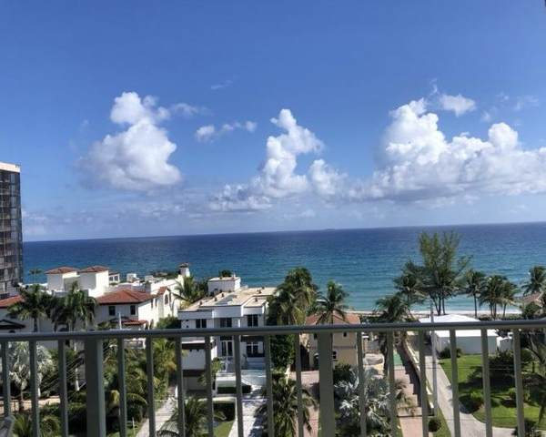 3594 S Ocean Boulevard #803, Highland Beach, FL 33487 (MLS #RX-10636256) :: The Paiz Group