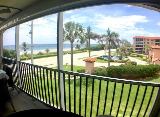 2871 N Ocean Boulevard C301, Boca Raton, FL 33431 (MLS #RX-10636264) :: Berkshire Hathaway HomeServices EWM Realty
