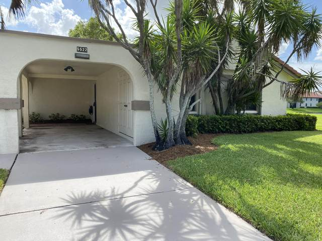 5522 E Parkwalk Circle E, Boynton Beach, FL 33472 (MLS #RX-10636298) :: The Jack Coden Group