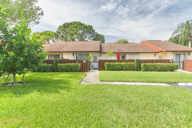 4919 Sable Pine Circle F, West Palm Beach, FL 33417 (MLS #RX-10636300) :: Berkshire Hathaway HomeServices EWM Realty
