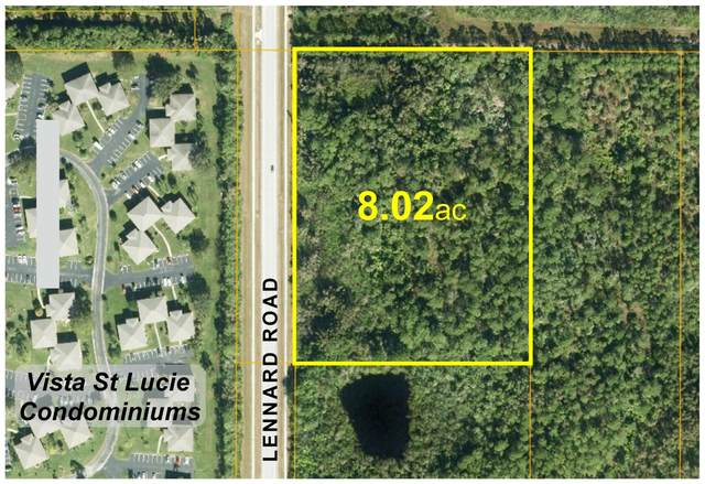 Xxx Lennard Rd Road, Port Saint Lucie, FL 34952 (#RX-10636351) :: The Rizzuto Woodman Team