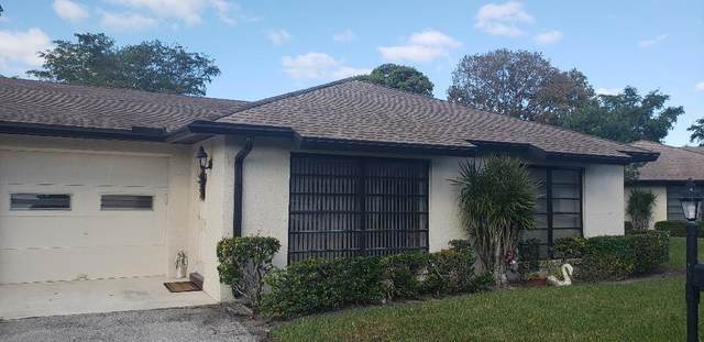 4641 Finchwood Way B, Boynton Beach, FL 33436 (#RX-10636377) :: Ryan Jennings Group