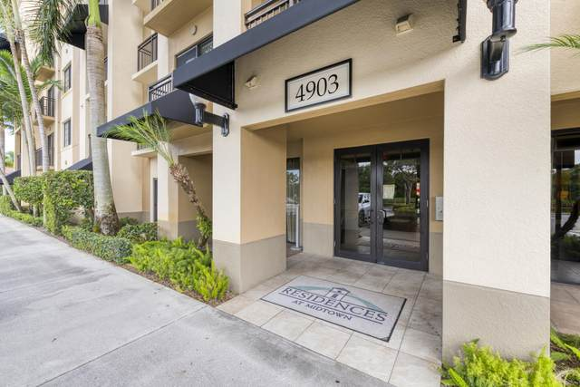 4903 Midtown Lane #3421, Palm Beach Gardens, FL 33418 (MLS #RX-10636502) :: The Jack Coden Group