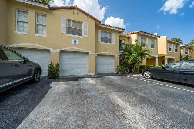 1015 Lake Shore Drive #102, Lake Park, FL 33403 (MLS #RX-10636625) :: Berkshire Hathaway HomeServices EWM Realty