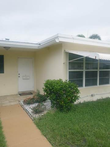220 Pine Point Drive A, Boynton Beach, FL 33435 (MLS #RX-10636647) :: Berkshire Hathaway HomeServices EWM Realty
