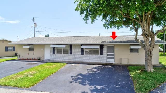 2737 Duke Lane #114, Delray Beach, FL 33445 (MLS #RX-10636815) :: Berkshire Hathaway HomeServices EWM Realty