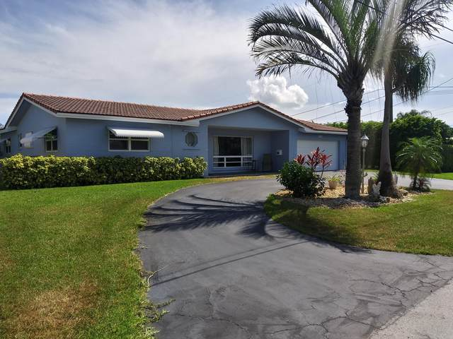 1444 SE 13th Street, Deerfield Beach, FL 33441 (MLS #RX-10636864) :: Laurie Finkelstein Reader Team