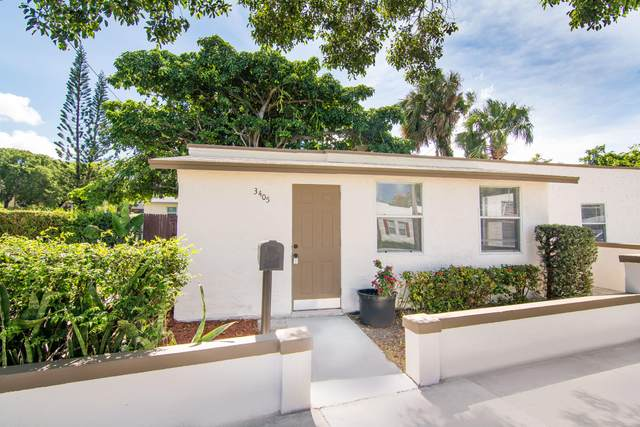 3405 Greenwood Avenue, West Palm Beach, FL 33407 (#RX-10637053) :: Manes Realty Group