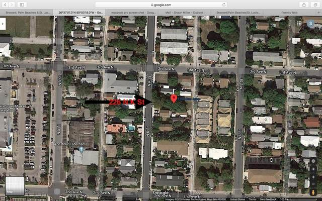 226 N K Street, Lake Worth, FL 33460 (#RX-10637101) :: Posh Properties