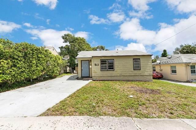 815 33rd Street, West Palm Beach, FL 33407 (#RX-10637208) :: Ryan Jennings Group