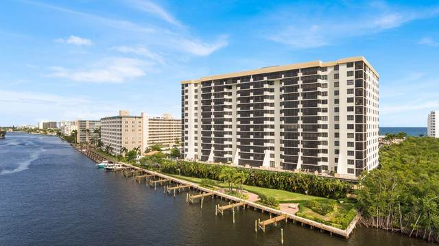 3420 S Ocean Boulevard 12Y, Highland Beach, FL 33487 (#RX-10637428) :: Ryan Jennings Group