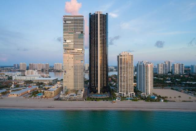 18555 Collins Avenue #4603, Sunny Isles Beach, FL 33160 (MLS #RX-10637550) :: Berkshire Hathaway HomeServices EWM Realty