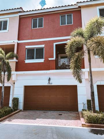 1403 Coastal Bay Boulevard, Boynton Beach, FL 33435 (MLS #RX-10637648) :: Berkshire Hathaway HomeServices EWM Realty