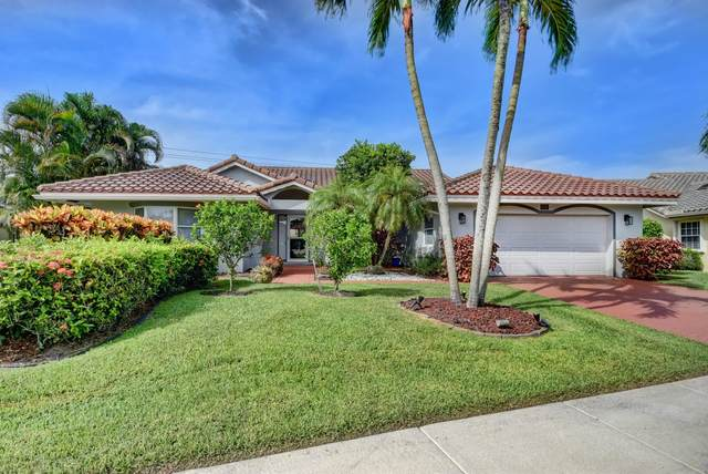 6116 Golf Villas Drive, Boynton Beach, FL 33437 (MLS #RX-10637744) :: Berkshire Hathaway HomeServices EWM Realty