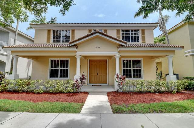 4528 Highgate Drive, Delray Beach, FL 33445 (MLS #RX-10637791) :: Berkshire Hathaway HomeServices EWM Realty