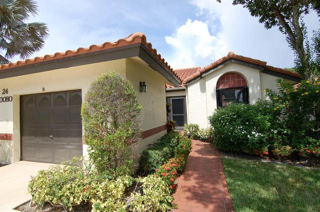 10080 Andrea Lane B, Boynton Beach, FL 33437 (#RX-10637948) :: Ryan Jennings Group