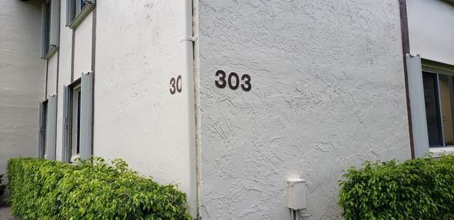 303 Knotty Pine Circle A-2, Greenacres, FL 33463 (MLS #RX-10638015) :: Berkshire Hathaway HomeServices EWM Realty