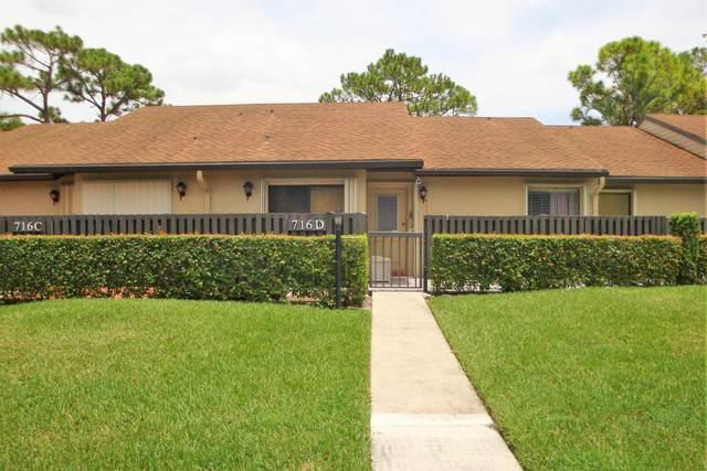 716 Sunny Pine Way D, Greenacres, FL 33415 (MLS #RX-10638029) :: Berkshire Hathaway HomeServices EWM Realty