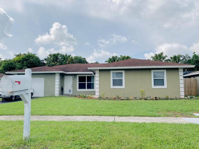 10332 Dorchester Drive, Boca Raton, FL 33428 (MLS #RX-10638074) :: The Jack Coden Group