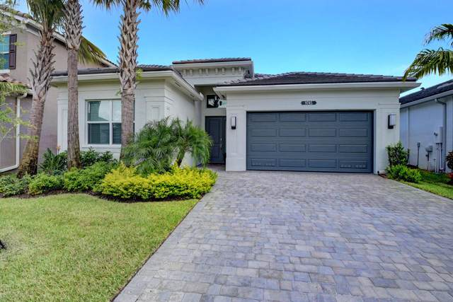 9745 Salty Bay Drive, Delray Beach, FL 33446 (MLS #RX-10638113) :: The Jack Coden Group