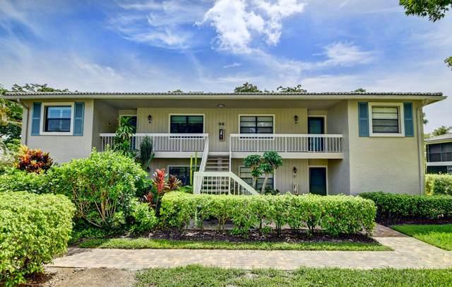 26 Westgate Lane 26D, Boynton Beach, FL 33436 (MLS #RX-10638202) :: Berkshire Hathaway HomeServices EWM Realty