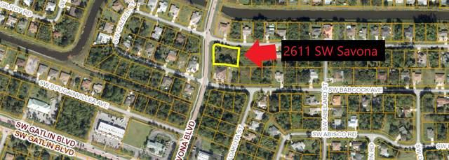 2611 SW Savona Boulevard, Port Saint Lucie, FL 34953 (#RX-10638224) :: Ryan Jennings Group