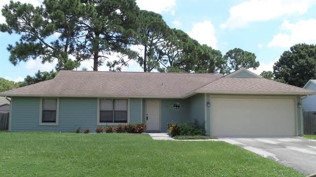 1217 SW Fletcher Lane, Port Saint Lucie, FL 34953 (MLS #RX-10638303) :: Berkshire Hathaway HomeServices EWM Realty