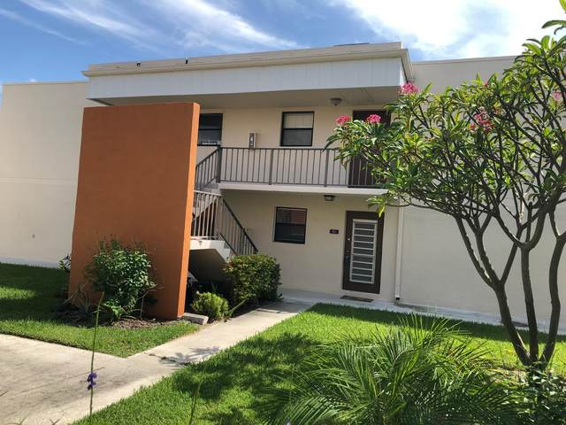 516 Osprey Drive 16B, Delray Beach, FL 33444 (MLS #RX-10638361) :: The Jack Coden Group