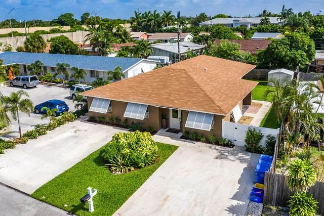 1603 Holly Street #1, Lantana, FL 33462 (MLS #RX-10638379) :: Berkshire Hathaway HomeServices EWM Realty
