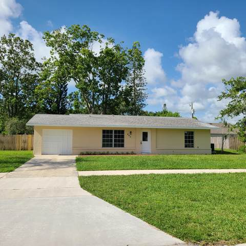 440 NW Floresta Drive, Port Saint Lucie, FL 34983 (MLS #RX-10638418) :: Berkshire Hathaway HomeServices EWM Realty