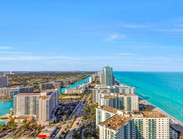 4111 S Ocean Drive #3208, Hollywood, FL 33019 (MLS #RX-10638476) :: Berkshire Hathaway HomeServices EWM Realty